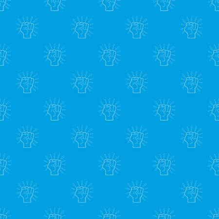 Riot pattern vector seamless blue repeat for any use