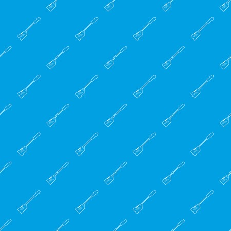 Spatular pattern vector seamless blue repeat for any use