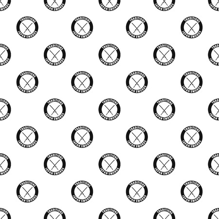 Katana pattern vector seamless repeat for any web design Vectores