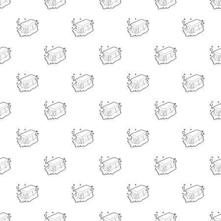 Wet cleaning pattern vector seamless repeating for any web design
