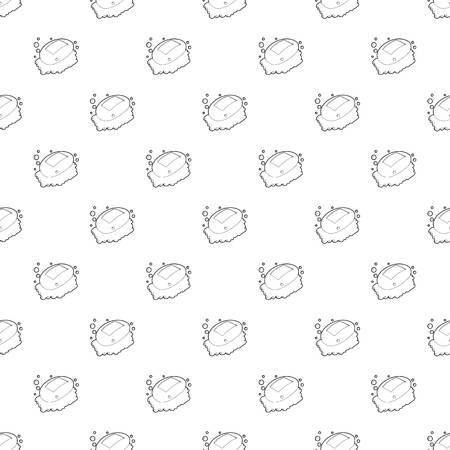 Soap pattern vector seamless repeating for any web design