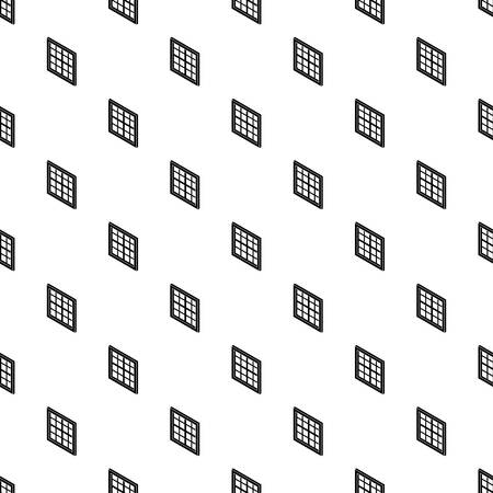 Lattice window frame pattern vector seamless repeating for any web design.