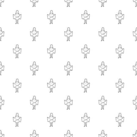 Riot of woman pattern vector seamless repeating for any web design 矢量图像