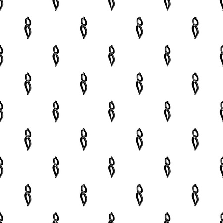 Blacksmith tong pattern vector seamless repeating for any web design Stock Illustratie