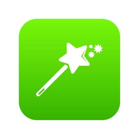 Magic wand icon vector illustration