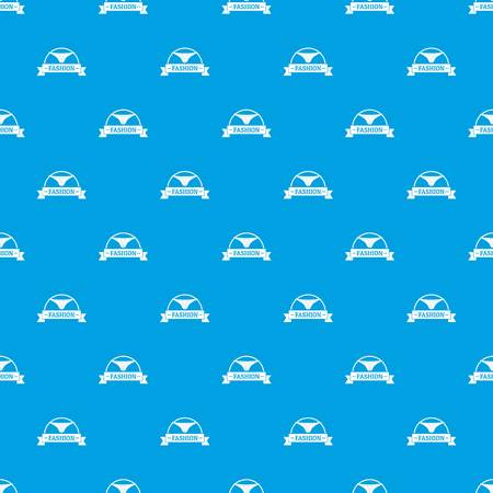 Underpants fashion pattern vector seamless blue repeat for any use Banque d'images - 100451444