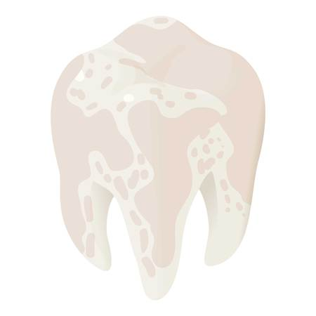 Ill tooth icon.