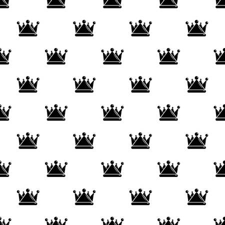 Kievan rus crown pattern vector seamless repeating for any web design