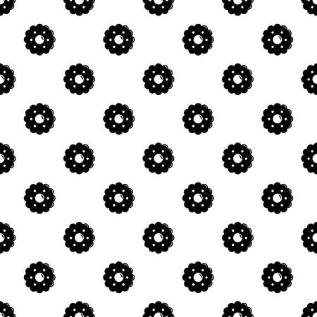 Biscuits pattern vector seamless repeating for any web design