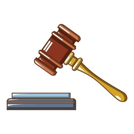 lifted judge gavel icon cartoon of lifted judge gavel vector rh 123rf com cartoon gazelle clip art cartoon gavel image