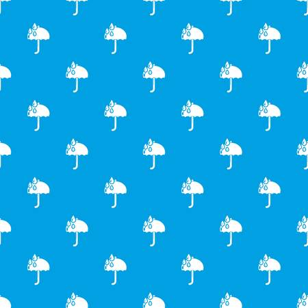 Umbrella seamless pattern illustration design.