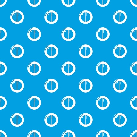 Face powder female pattern vector seamless blue Illustration