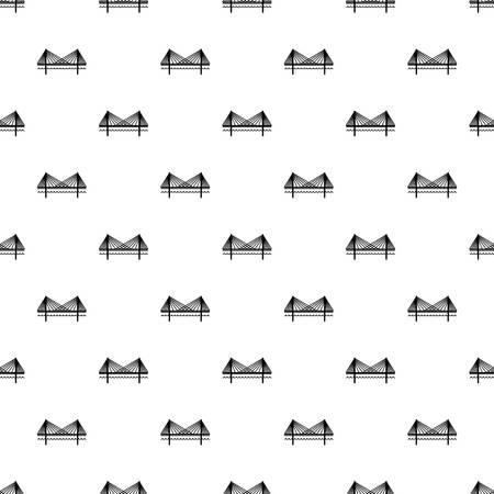 Bridge pattern vector seamless