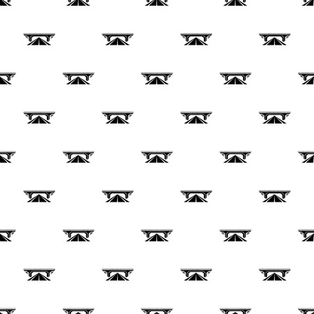 Concrete bridge pattern vector seamless