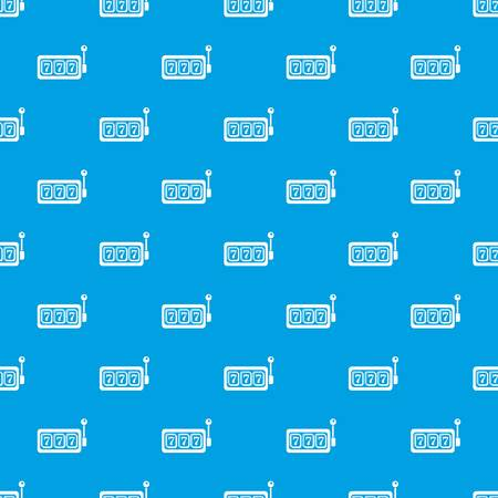 Slots pattern vector seamless blue repeat for any use