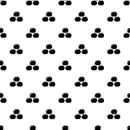 Apples pattern vector seamless