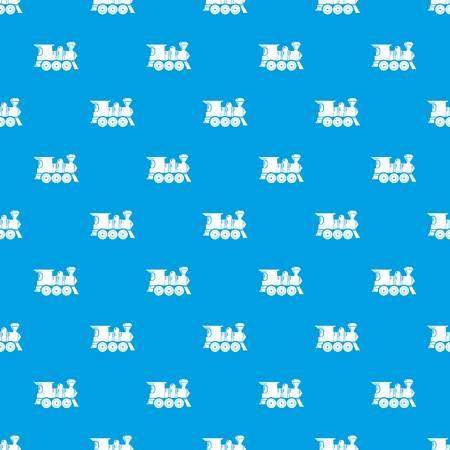 Balloon pattern vector seamless blue Иллюстрация
