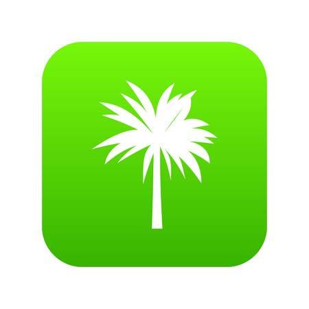 Palm icon digital green Illustration
