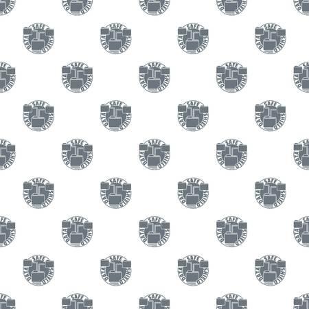 Data save shield pattern vector seamless