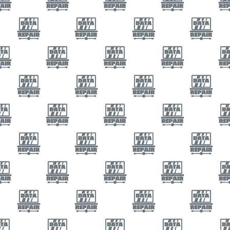 Pc data repair pattern vector seamless