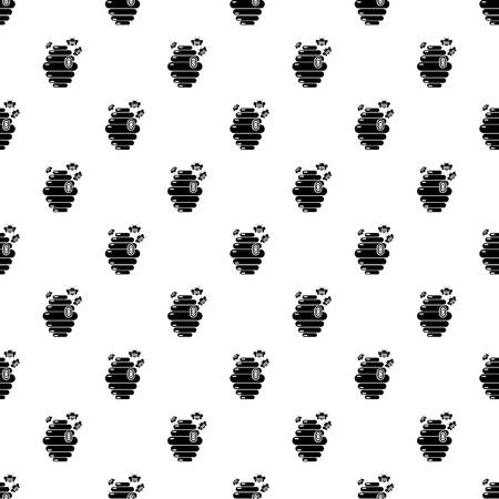 Swarm pattern vector seamless