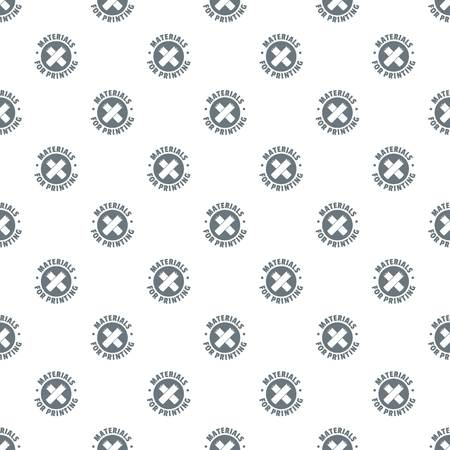 Materials for printing pattern vector seamless