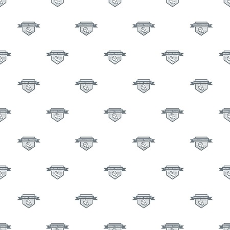 Meat organic product pattern vector seamless