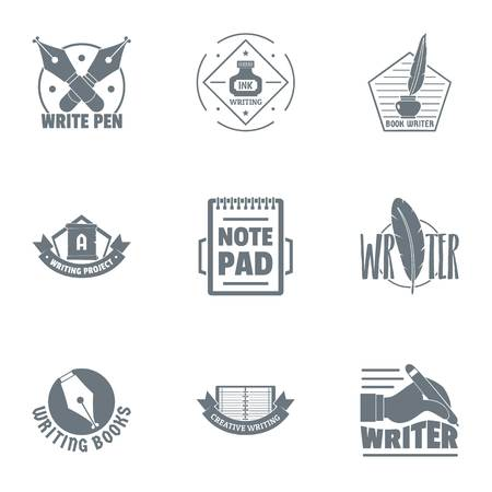 Scribbler  set, simple style