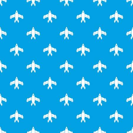 Airliner pattern vector seamless blue repeat for any use