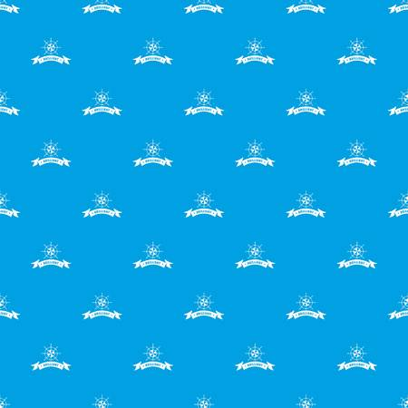 Brilliant pattern vector seamless blue repeat for any use