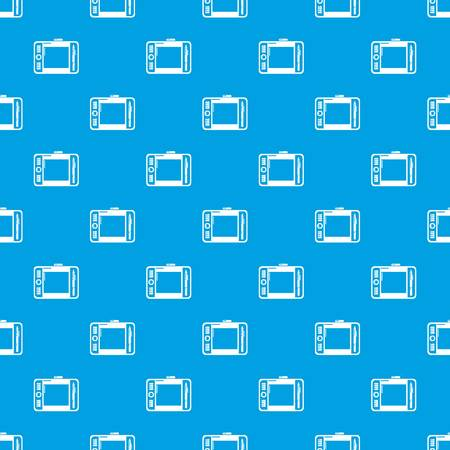 Graphic tablet pattern vector seamless blue