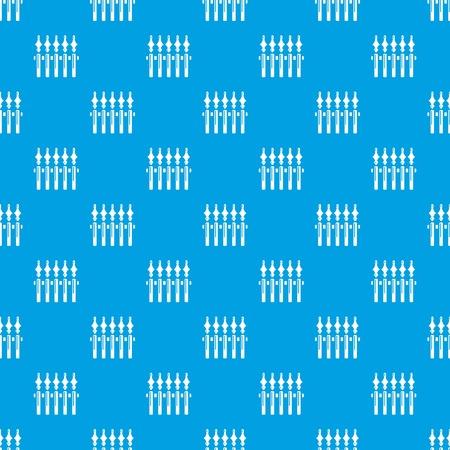 Guardrail pattern vector seamless blue