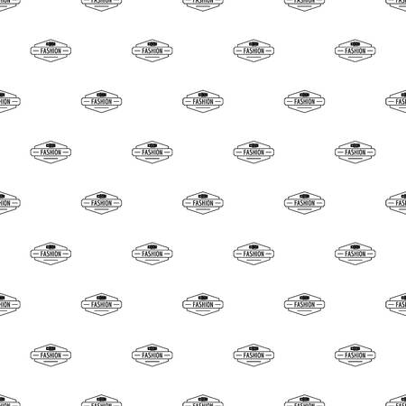 Buckle pattern vector seamless