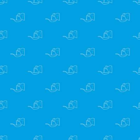 Medical syrup pattern vector seamless blue