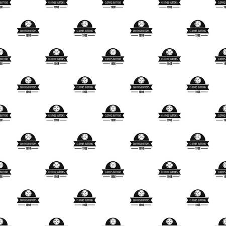 Clothes button design pattern vector seamless 일러스트