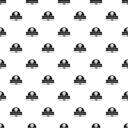 Clothes button design pattern vector seamless 일러스트