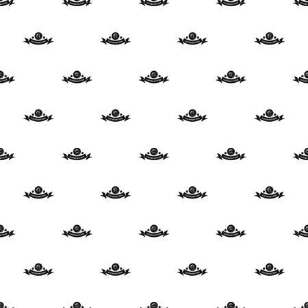 Clothes button fabric pattern vector seamless