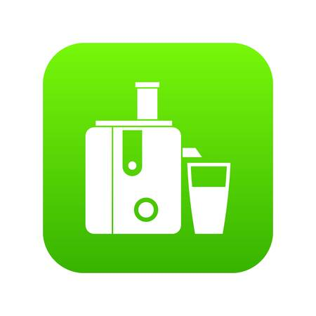 Juicer icon digital green