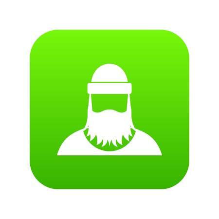 Lumberjack icon digital green