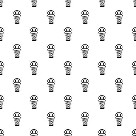 Mesh bucket icon, simple style