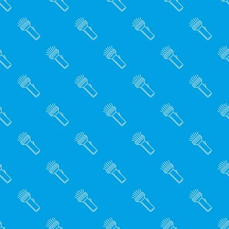 Flashlight pattern vector seamless blue repeat for any use