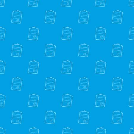 Plane tablet pattern vector seamless blue Ilustrace