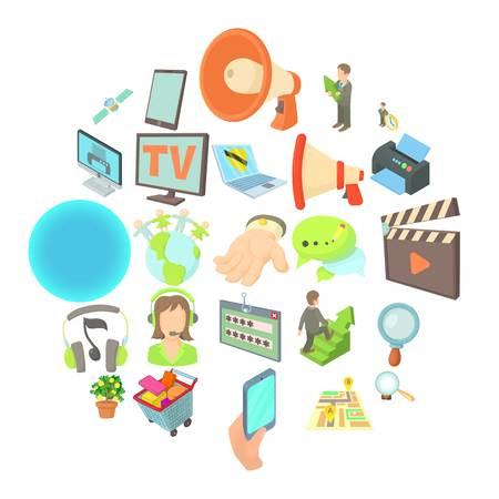 Development of applications icons set