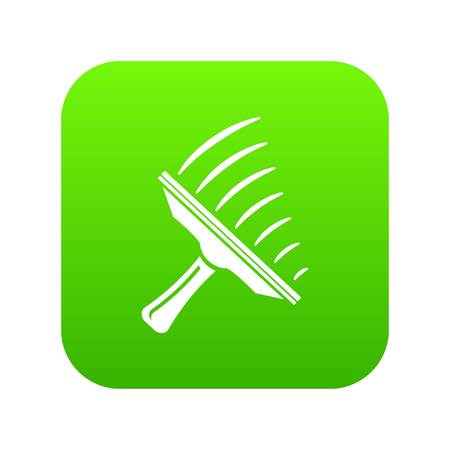 Window mop icon. Simple illustration of window mop vector icon for web