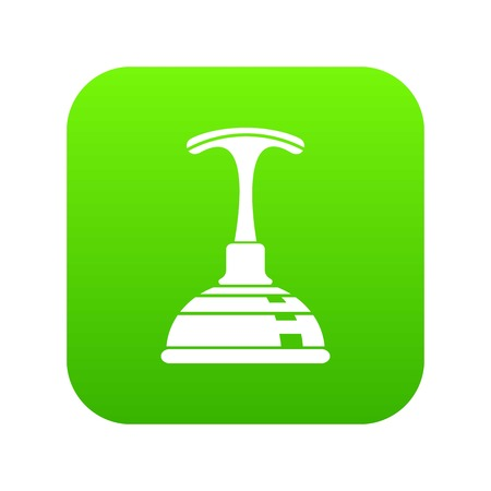 Plunger icon. Simple illustration of plunger vector icon for web
