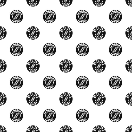 Bijouterie luxury pattern vector seamless