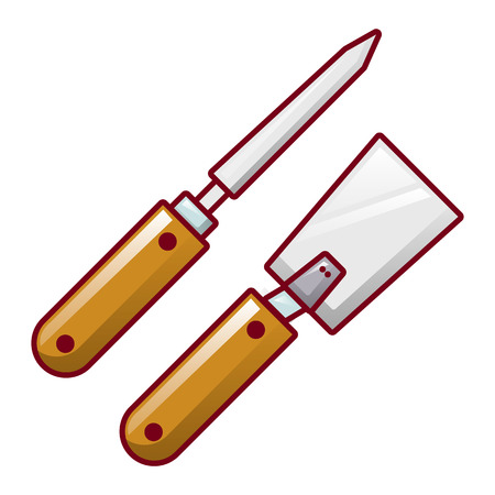 Honey extract tool icon, cartoon style