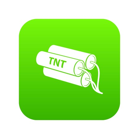 Tnt icon, simple style Illustration