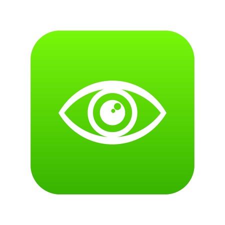 Icono de ojo humano, estilo simple