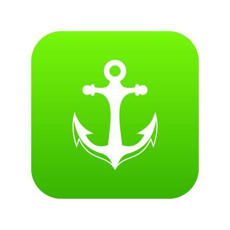 Anchor icon digital green